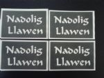 Nadolig Llawen word stencils for glitter tatoos / airbrush / face painting / craft / hobby  Welsh Happy Christmas Wales